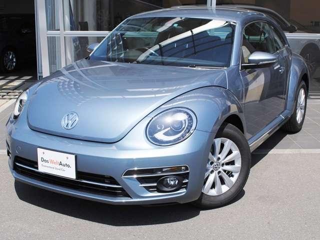 New The Beetle Design 純正ナビ・ETC・キセノンライト装着車【デモカー】の画像1