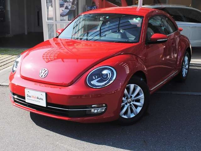 The Beetle Design  ナビ・ETC・バックカメラ・キセノンライト・リアスポイラー装着車の画像1