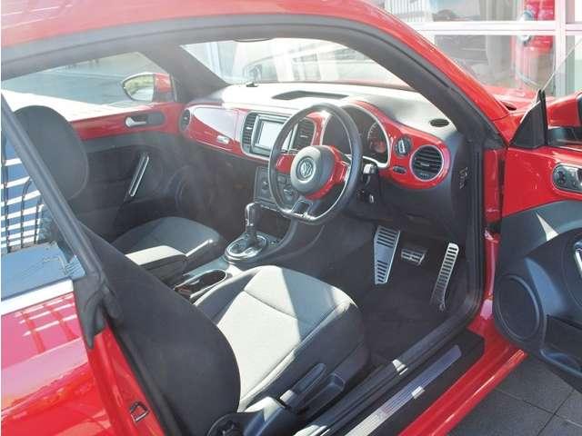 The Beetle Design  ナビ・ETC・バックカメラ・キセノンライト・リアスポイラー装着車の画像4