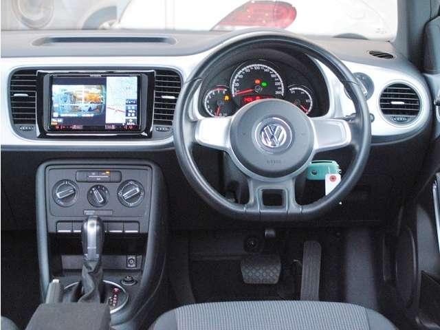 The Beetle Design ナビ・ETC・バックカメラ・ドライブレコーダー・ローダウンサス装着車の画像4