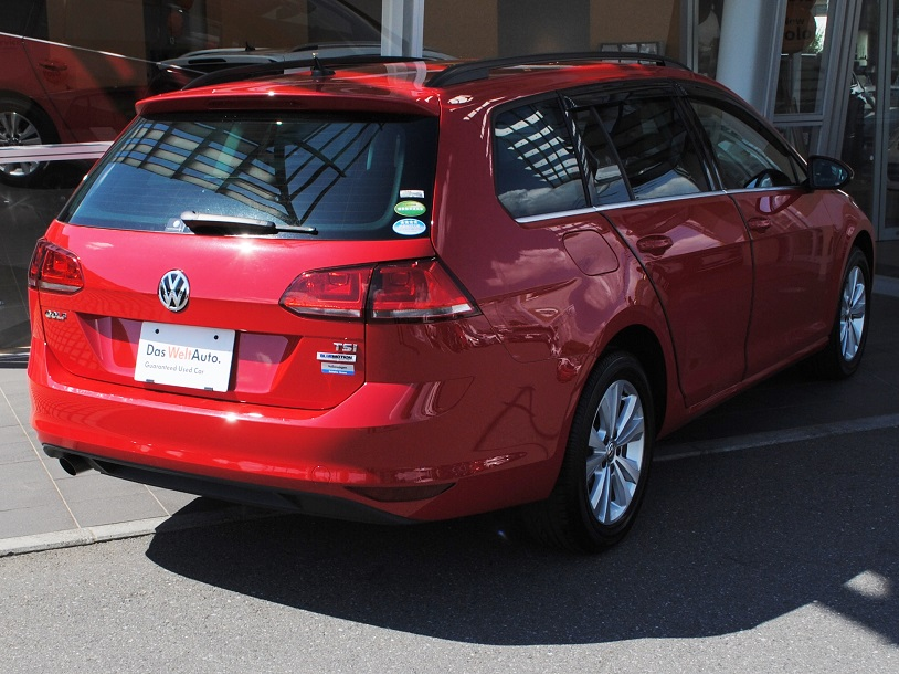 Golf Variant TSI Comfortline テクノロジーパッケージ・ACC・純正ナビ装着車の画像2