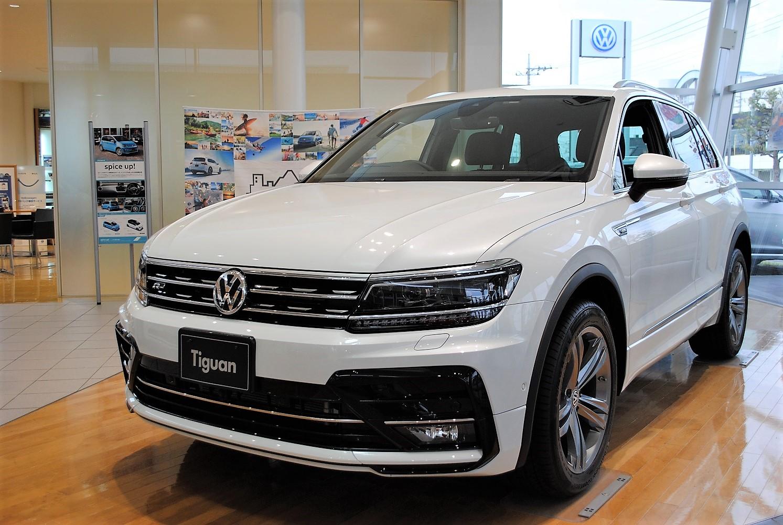 【クリーンディーゼル×4WD車】 Tiguan TDI 4MOTION  R-Line 装着車の画像1