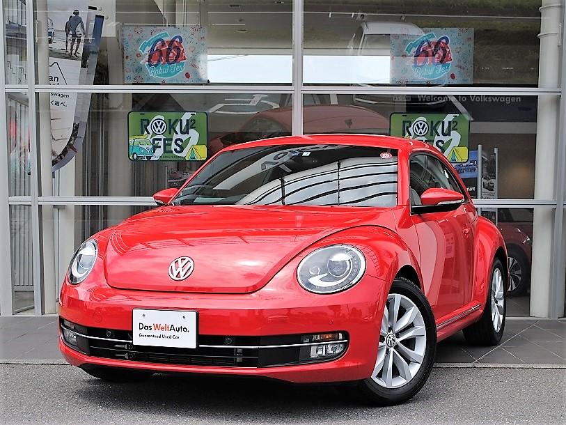 The Beetle Design Leather パッケージ 純正ナビ・ETC装着車の画像1