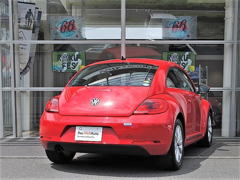 The Beetle Design Leather パッケージ 純正ナビ・ETC装着車の画像2