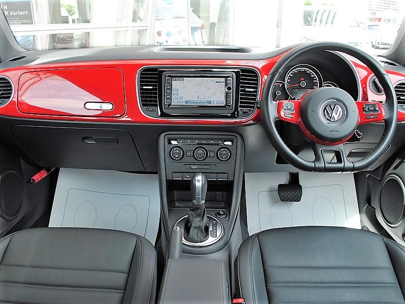 The Beetle Design Leather パッケージ 純正ナビ・ETC装着車の画像3