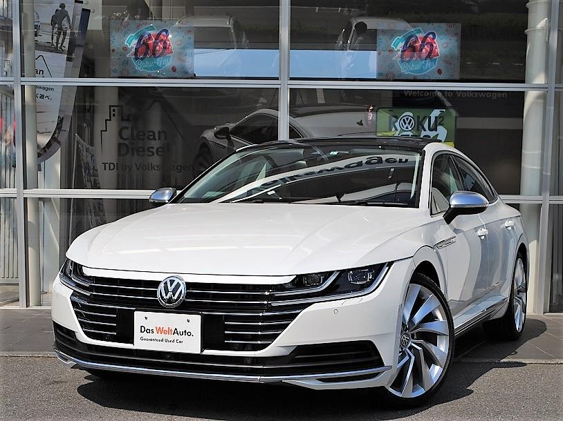 【元デモカー】Arteon TSI 4MOTION Elegance Luxuryパッケージ ・SR ・Dynaudioプレミアムオーディオ装着車の画像1