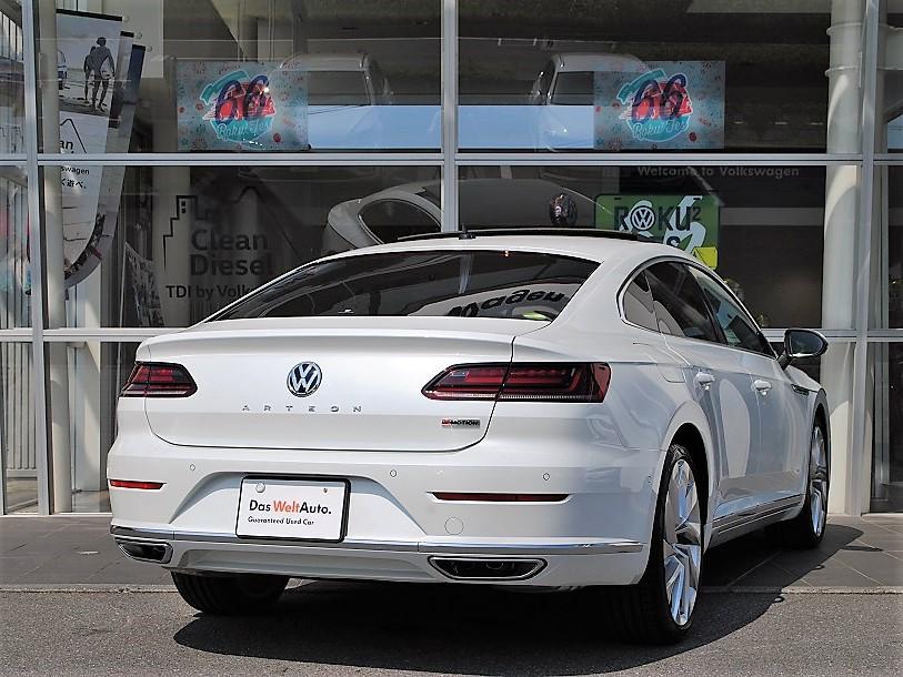 【元デモカー】Arteon TSI 4MOTION Elegance Luxuryパッケージ ・SR ・Dynaudioプレミアムオーディオ装着車の画像2
