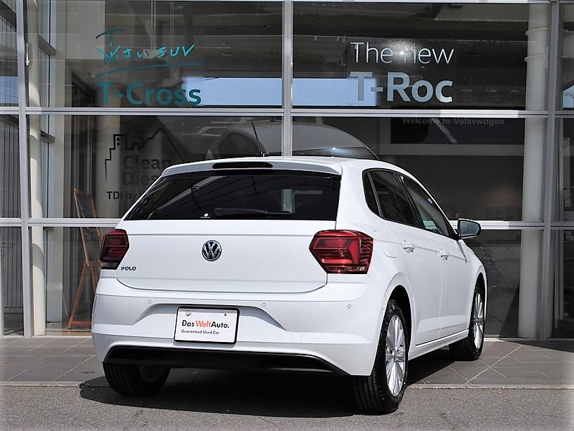 【元デモカー】Polo TSI Highline純正ナビ、セーフティパッケージ、前後パーキングセンサー、パーキングアシスト、バックカメラ、ETC装着車の画像2